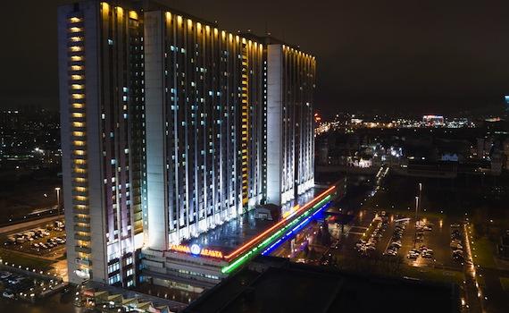 готелі москви