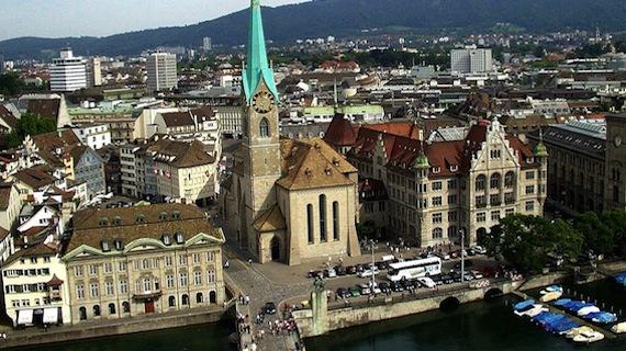 п'ять самих благополучні міст європи