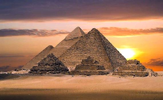 загадки єгипетських пірамід