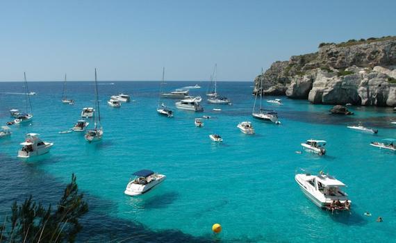 пляжи испании: менорка