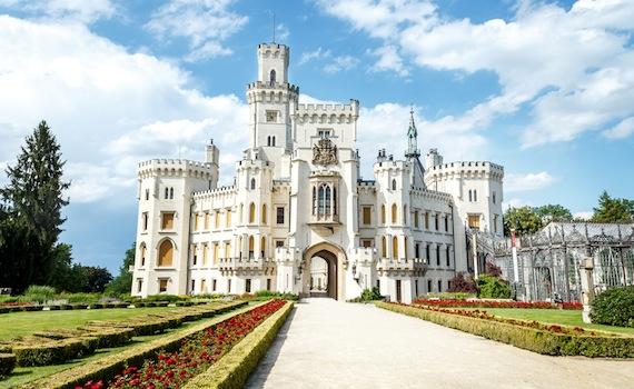замки і фортеці чехії