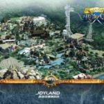 Пиратский парк по мотивам игр World Of Warcraft и Starcraft