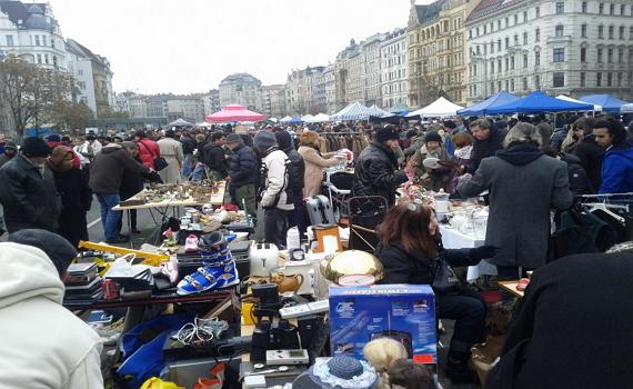 Знаменитий австрійський ринок Нашмаркт