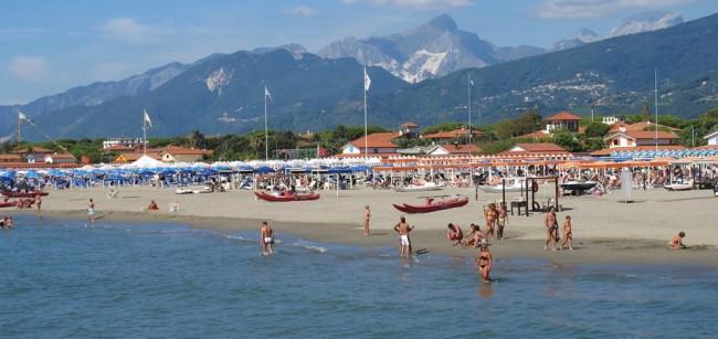 лучшие пляжи форте дей марми