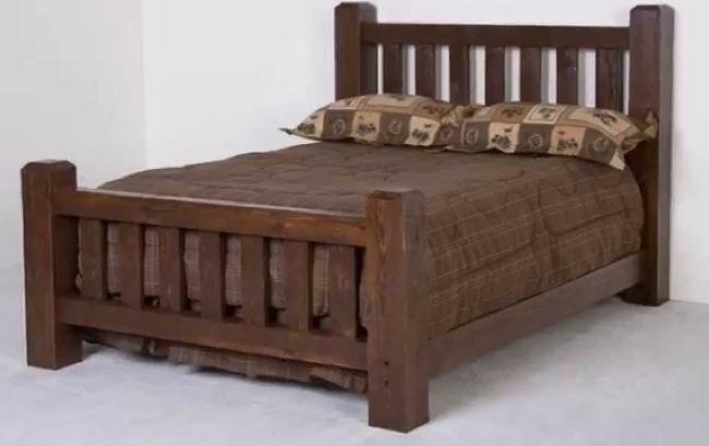 ліжко з натурального дерева недорого в Україні можна тільки в інтернет-магазині - «ProMebli»