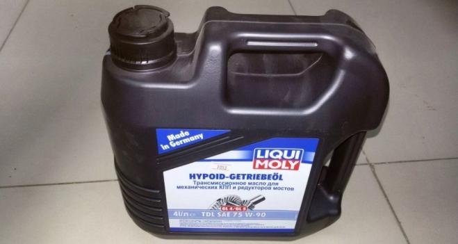 Трансмиссионное масло LIQUI